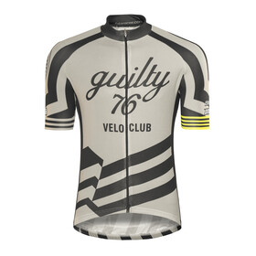 guilty 76 racing Velo Club Pro Race Bike Jersey Shortsleeve Men grey